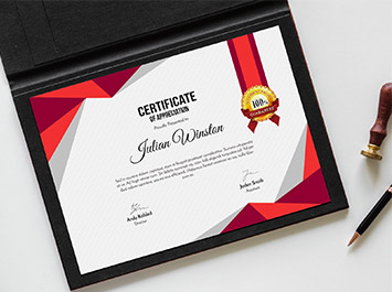 Certificate Printing in Chennai